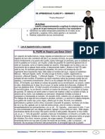 Guia de Aprendizaje Lenguaje 8b Semana 3 2014
