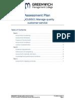 Assessment Plans