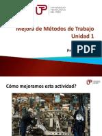 MEJORA DE METODOS DE TRABAJO