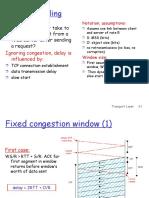 TCP Delay Model