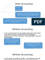 Whither Accounting