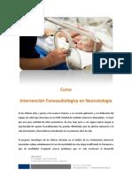 Intervención Fonoaudiológica en Neonatología