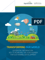 White Paper - Geospatial and Sustainable Development