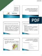 1_2 Políticas Nacionales de Información Geoespacial