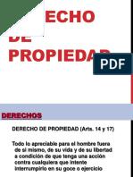 Derecho de Propiedad (resumen)