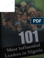 101 Most Influential Leaders Corrected Version