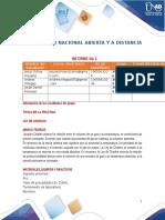Imforme 3 de Quimica General