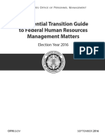Presidential Transition Guide