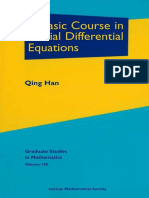 (Graduate Studies in Mathematics 120) Qing Han-A Basic Course in Partial Differential Equations-American Mathematical Society (2011).pdf