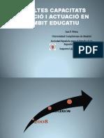 Les altes capacitats detecció i actuació en l'àmbit educatiu