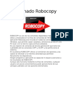 Comado Robocopy