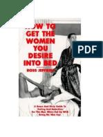 Cómo Llevar a La Mujer Que Desees a La Cama