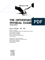 Orthopaedic Clinical Examination