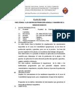 Plan de Viaje Huancayo - Junin