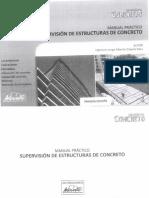 Manual Práctico de Supervisión de Estructuras de Concreto