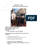 Mestizo's Trio