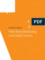PSB in the nordic countries