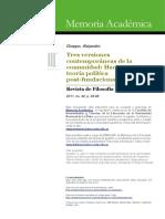 groppo, alejandro - tres versiones contemporáneas de la comunidad.pdf