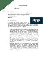 Carta Notarial de Conocimientoo