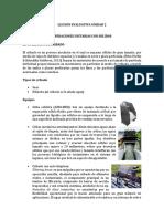 Leccion de Evaluativa Unidad 2 Procesos quimicos