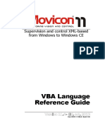 Movicon-Язык VBA Англ