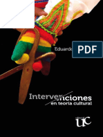 Restrepo Eduardo - Intervenciones en Teoria Cultural