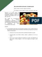 Cuál Es La Relación Entre Nutrición y Alimentación