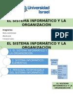 El Sistema Informático y la Organización