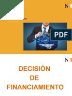 Decisión de Financiamiento N°1