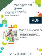 Marketing Presentation- Planogram