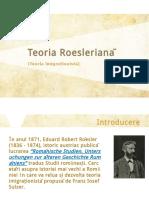 Teoria Roesleriană