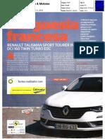 "RENAULT TALISMAN SPORT TOURER dCi 160 TWIN TURBO NA ""CARROS & MOTORES"""