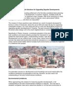 Proceso Urbano - Ingles