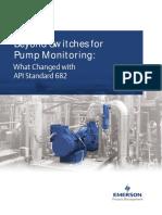 Pump Seal Monitoring 2016