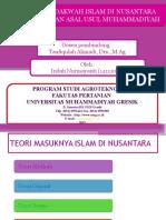 Dakwah Islam Di Nusantara Dan Asal Usul Muhammadiyah