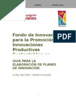 Guia Para Elaborar Planes de Innovación