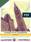 Conservative Leadership Poll