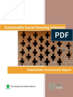 Sustainable Social Housing Initiative