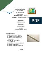 Hidraulica Instrumentacion