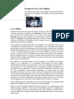 El Impacto de La Era Digital y Estrategias de Marketing de La Era Digital