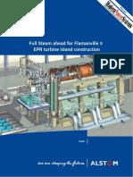 Flamanville 3 Epr Turbine Island Construction Editorial