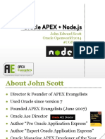 UGF5222_Scott-Oracle APEX + Node.js