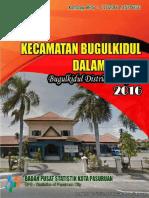 Kecamatan Bugulkidul Dalam Angka 2016
