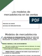 Los Modelos de Mercadotecnia en Las Ventas