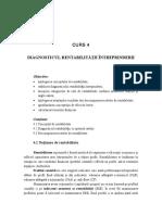 C4 Diagnosticul rentabilitatii
