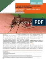 Dengue y Estudiantes de Medicina