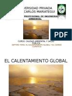 7ma Clase Calentamiento Global y Cambio Climatico