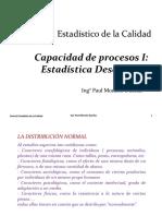 02 Capacidad de Procesos I Estadística Descriptiva