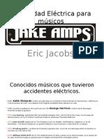 Seguridad Eléctrica para músicos