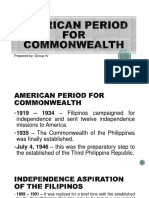 American Period for Commonwealth